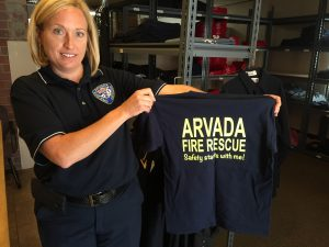 Deputy Fire Marshal Deanna Harrington, Arvada Fire Protection District
