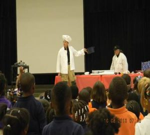 Wadesboro Cooking Safety Demonstration