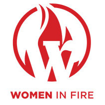 image of Women in Fire logo